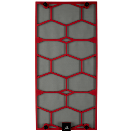 Crystal 570X Front Dust Filter, Red