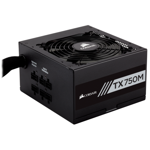 TX-M Series™ TX750M — 750 Watt 80 Plus® Gold Certified PSU (EU)