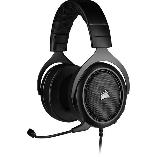 HS50 PRO STEREO Gaming Headset — Carbon (EU)
