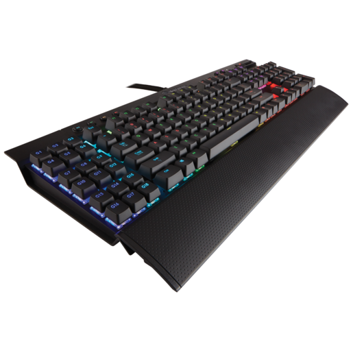 CORSAIR Gaming K95 RGB Mechanical Gaming Keyboard — CHERRY® MX Blue (NA) (Refurbished)