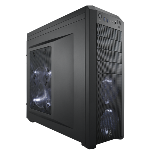 Carbide Series™ 500R Mid-Tower Case (Refurbished)