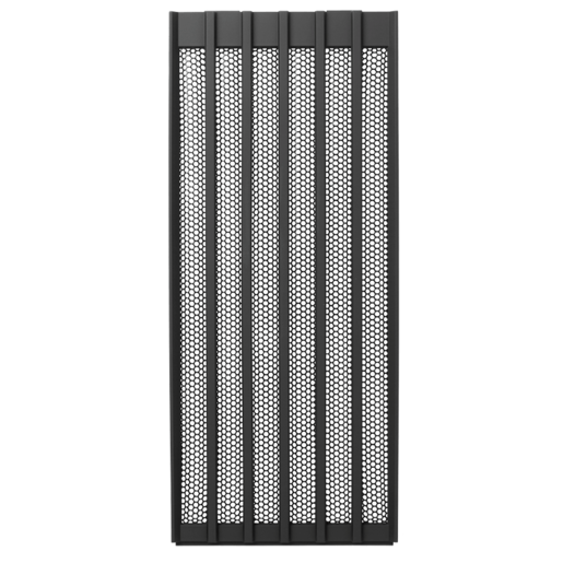 Carbide Air 540 Silver Top Panel Grill (Black)