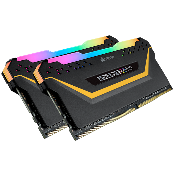 VENGEANCE® RGB PRO 16GB (2 x 8GB) DDR4 DRAM 3000MHz C15 Memory Kit — TUF Gaming Edition