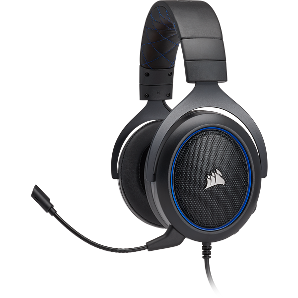 HS50 Stereo Gaming Headset — Blue (AP)