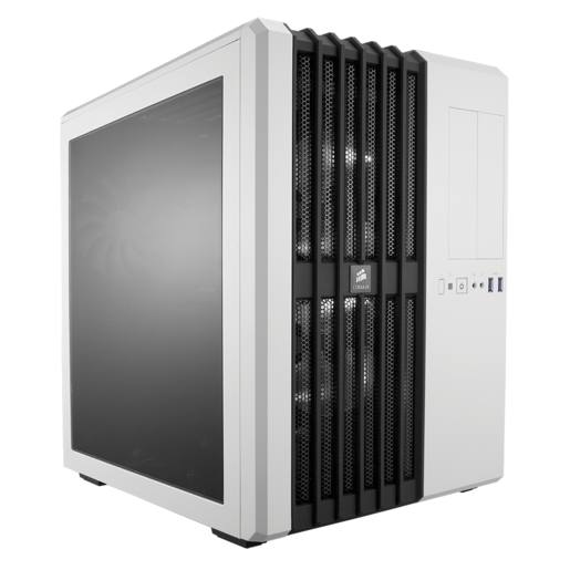 Carbide Series™ Air 540 Arctic White High Airflow ATX Cube Case