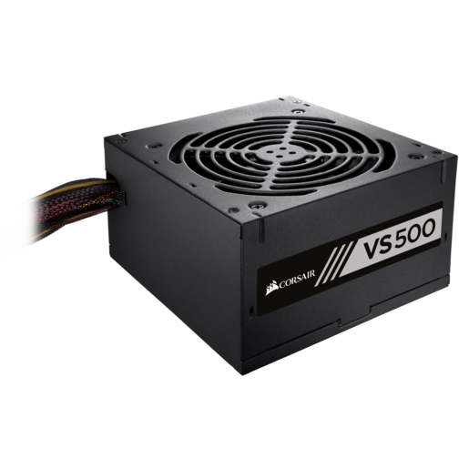 VS Series™ VS500 – PSU de 500 watts com certificação 80 PLUS® White (LA)