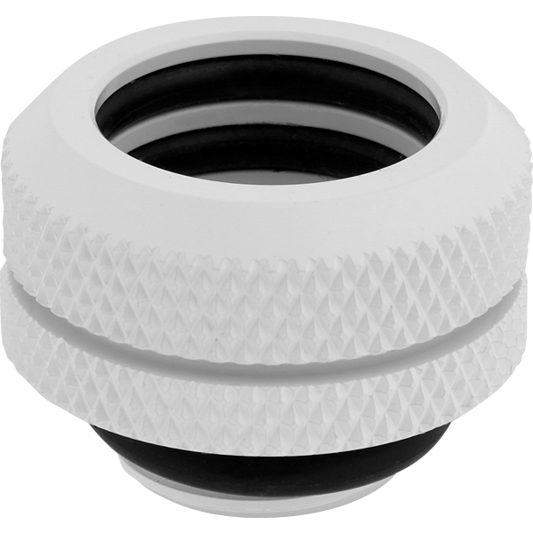 Hydro X Series XF Hardline 14mm OD Fitting Four Pack — White