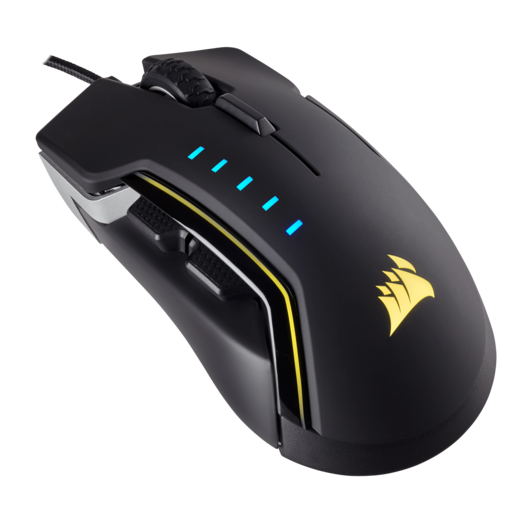 GLAIVE RGB Gaming Mouse — Aluminum (WW) (Refurbished)