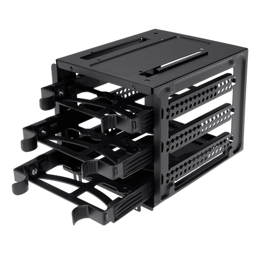 Obsidian Series™ 550D drive cage with 3 drive trays