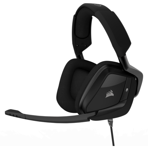 VOID PRO Surround Premium Gaming Headset with Dolby® Headphone 7.1 — Carbon (EU)