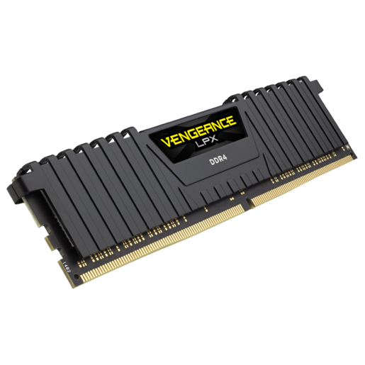 VENGEANCE® LPX 64GB (8 x 8GB) DDR4 DRAM 2666MHz C15 Memory Kit - Black