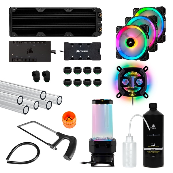 Hydro X Series iCUE XH300i RGB Custom Cooling Kit (EU)