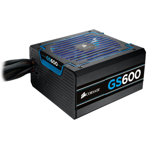 "GS Series™ GS600 — 80 PLUS® Bronze Certified Power Supply ""2013 Edition"""