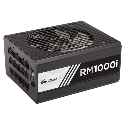 RMi Series™ RM1000i — 1000 Watt 80 PLUS® Gold Certified Fully Modular PSU (NA) (Refurbished)