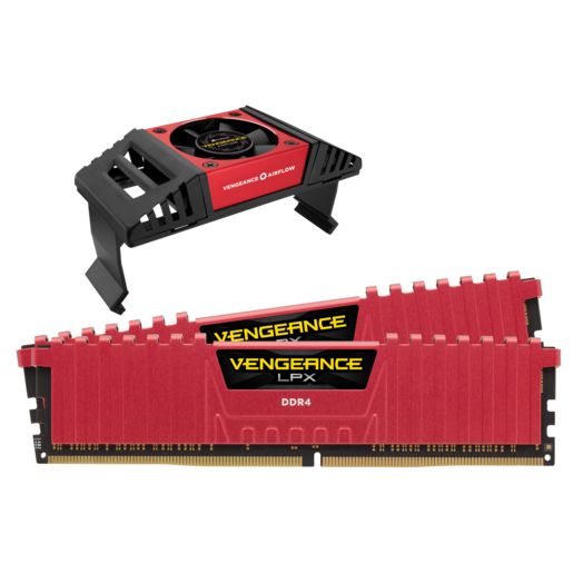 VENGEANCE® LPX 16GB (2 x 8GB) DDR4 DRAM 3466MHz C16 Memory Kit - Red