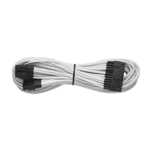 Individually Sleeved 24pin ATX Cable Type 4 (Generation 2), White