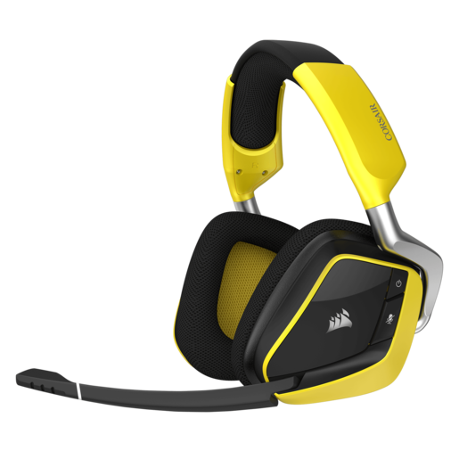 VOID PRO RGB Wireless SE Premium Gaming Headset with Dolby® Headphone 7.1 — Yellow (AP)