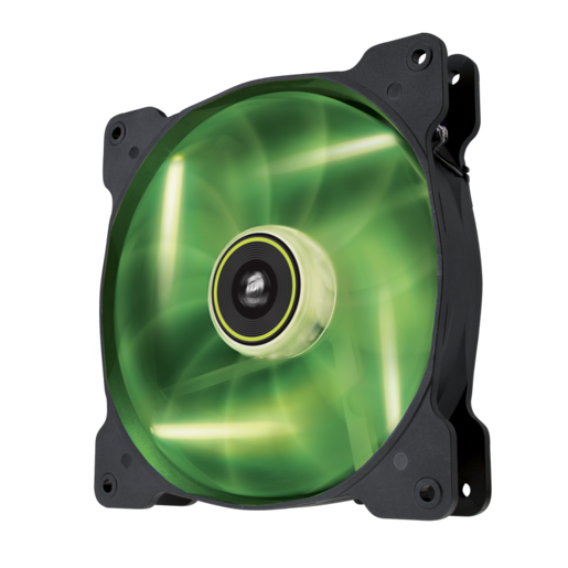 Air Series™ SP140 LED Green High Static Pressure 140mm Fan