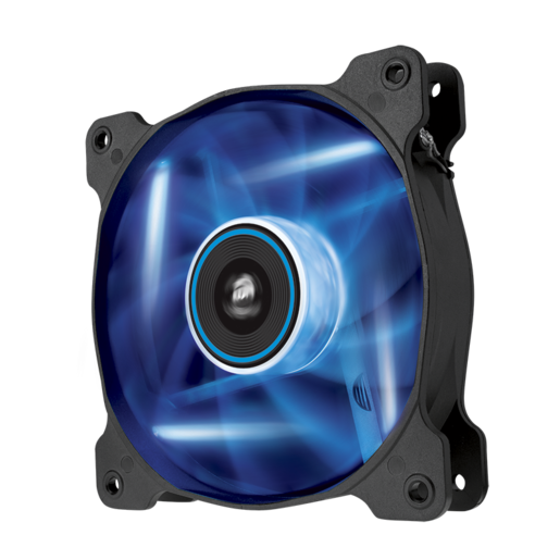 Air Series™ AF120 LED Blue Quiet Edition High Airflow 120mm Fan