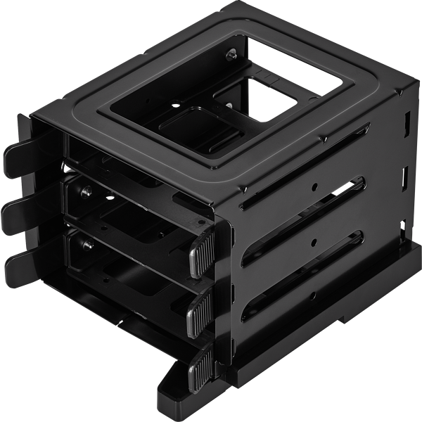 Crystal 680X RGB HDD Cage, Black