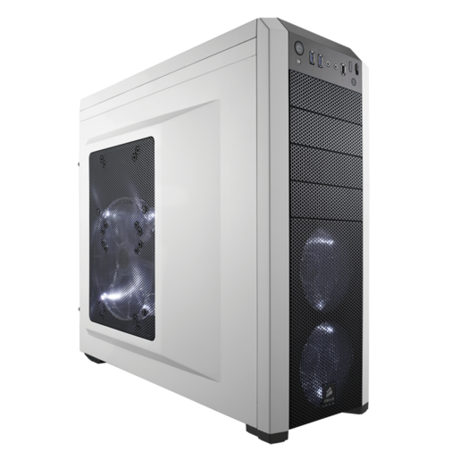 Carbide Series™ 500R White Mid-Tower Case (Refurbished)