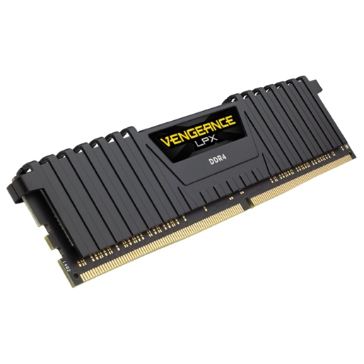 VENGEANCE® LPX 16GB (1 x 16GB) DDR4 DRAM 2666MHz C16 Memory Kit - Black