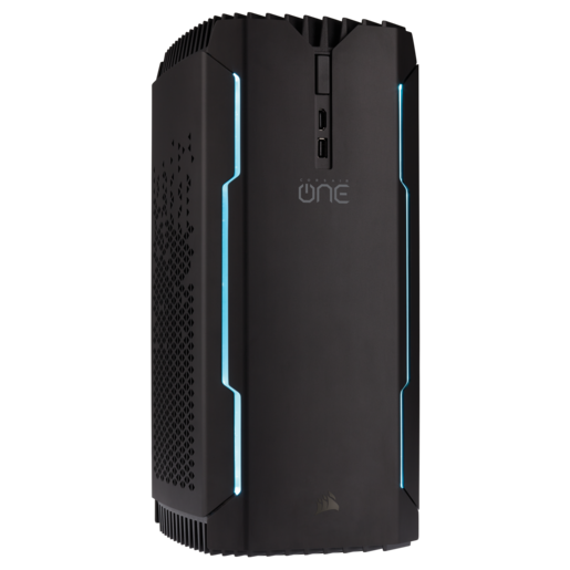 CORSAIR ONE PRO PLUS Compact Gaming PC — Intel® Core i7-8700K, NVIDIA GeForce GTX 1080 Ti, 16GB DDR4-2666, 480GB SSD, 2TB HDD (Refurbished)