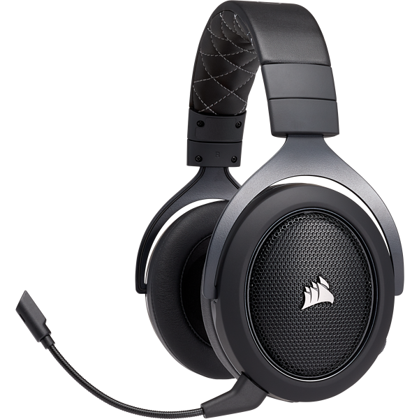 HS70 WIRELESS Gaming Headset — Carbon