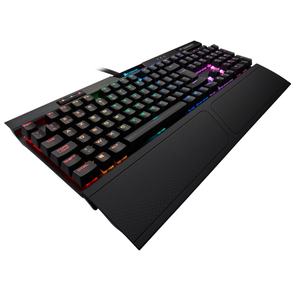 K70 RGB MK.2 Mechanical Gaming Keyboard — CHERRY® MX Blue (BE)