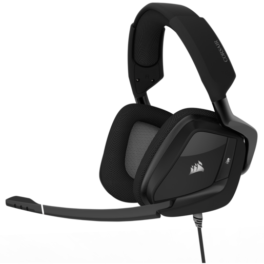 Casque gaming USB Premium VOID PRO RGB avec Dolby® Headphone 7.1 — Noir carbone (EU)