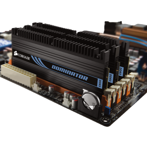 DOMINATOR® with DHX Pro Connector — 6GB Triple Channel DDR3 Memory Kit