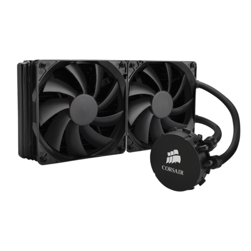 Hydro Series™ H110 280mm Extreme Performance Liquid CPU Cooler (Refurbished)