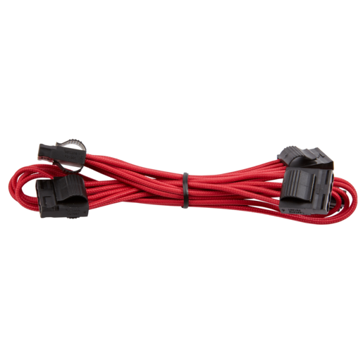 Premium Individually Sleeved Peripheral Cable, Type 4 (Generation 3) - Red