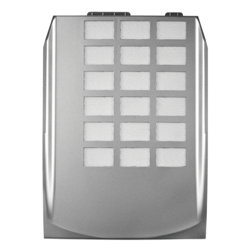 Graphite Series™ 600T Power Supply Intake Cover, Filter — Silver