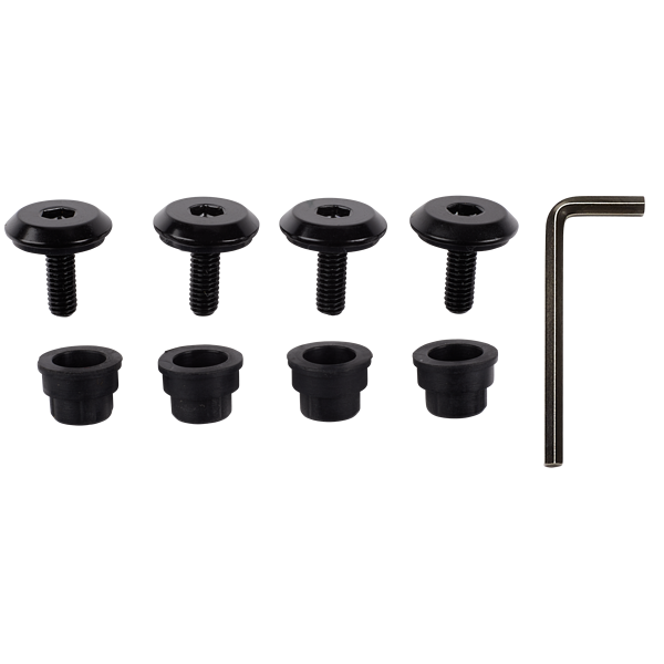 Carbide SPEC-OMEGA Tempered Glass Side Panel Thumbscrew Set