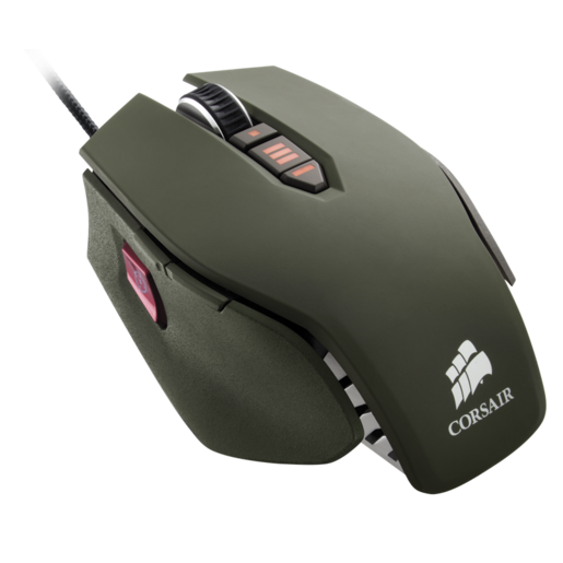 VENGEANCE® M65 FPS Laser Gaming Mouse — Military Green (AP)