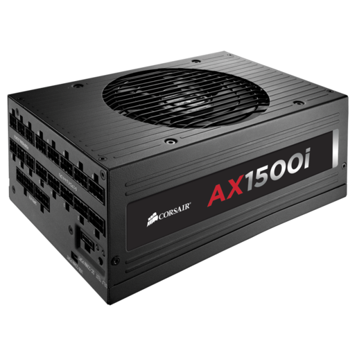 AX1500i Digital ATX Power Supply — 1500 Watt Fully-Modular PSU (NA) (Refurbished)