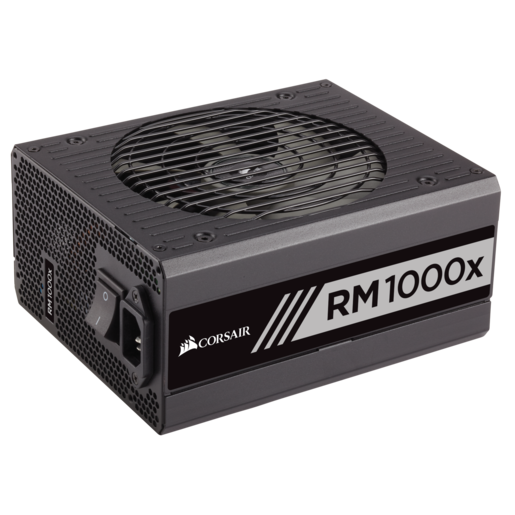 RMx Series™ RM1000x — 1000 Watt 80 PLUS® Gold Certified Fully Modular PSU (AU)