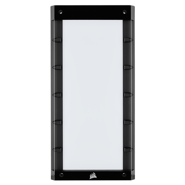 CORSAIR 465X RGB Front Panel with Tempered Glass, Black