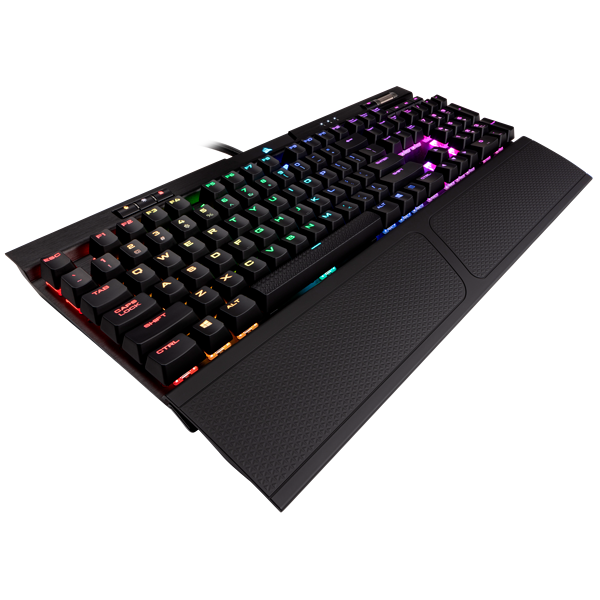 K70 RGB MK.2 RAPIDFIRE Mechanical Gaming Keyboard — CHERRY® MX Speed (CN)