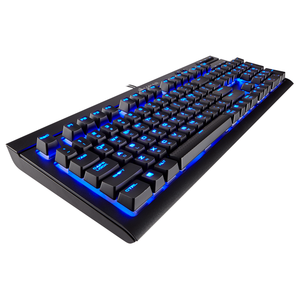K68 Mechanical Gaming Keyboard — Blue LED — CHERRY® MX Blue (KR)