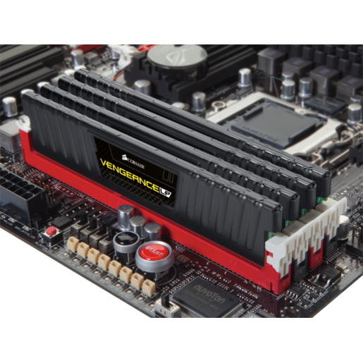 VENGEANCE® Low Profile — 16GB Dual/Quad Channel DDR3 Memory Kit