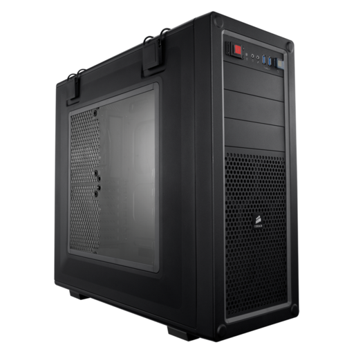VENGEANCE® C70 Mid-Tower Gaming Case — Gunmetal Black