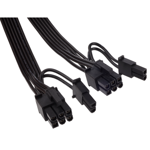 HX Series™ PCI-E peripheral cable with 2 connectors compatible with HX450, HX520, HX620 and HX650