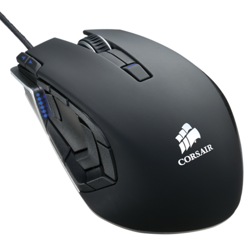 VENGEANCE® M95 Performance MMO and RTS Laser Gaming Mouse — Gunmetal Black