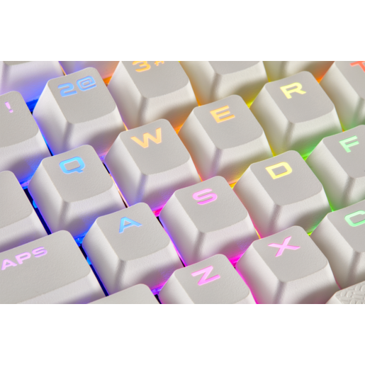 CORSAIR GAMING PBT Double-shot Keycaps Full 104/105-Keyset — White