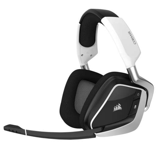VOID PRO RGB Wireless Premium Gaming Headset with Dolby® Headphone 7.1 — White