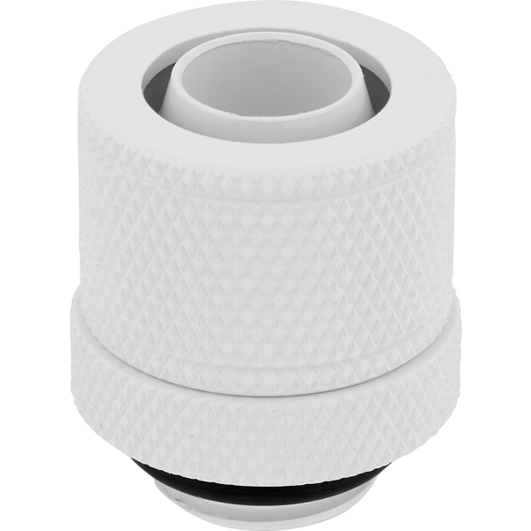 "Hydro X Series XF Compression 10/13mm (3/8"" / 1/2"") ID/OD Fitting Four Pack — White"