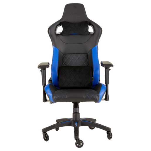 Sedia da gaming T1 RACE 2018 — Nero/Blu