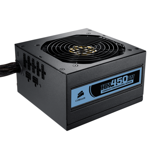 Professional Series™ HX450 — 80 PLUS® Bronze Certified Modular Power Supply